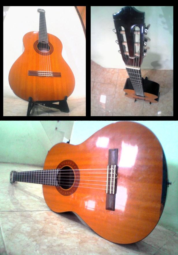 yamaha cx 40 left guitar