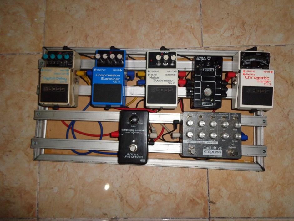 diy pedal board aluminum (2)