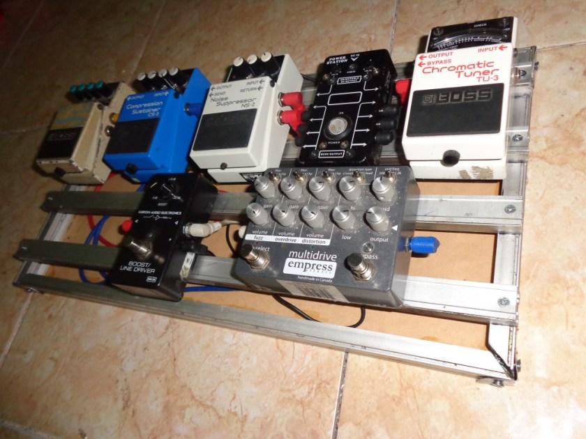 diy pedal board aluminum (3)