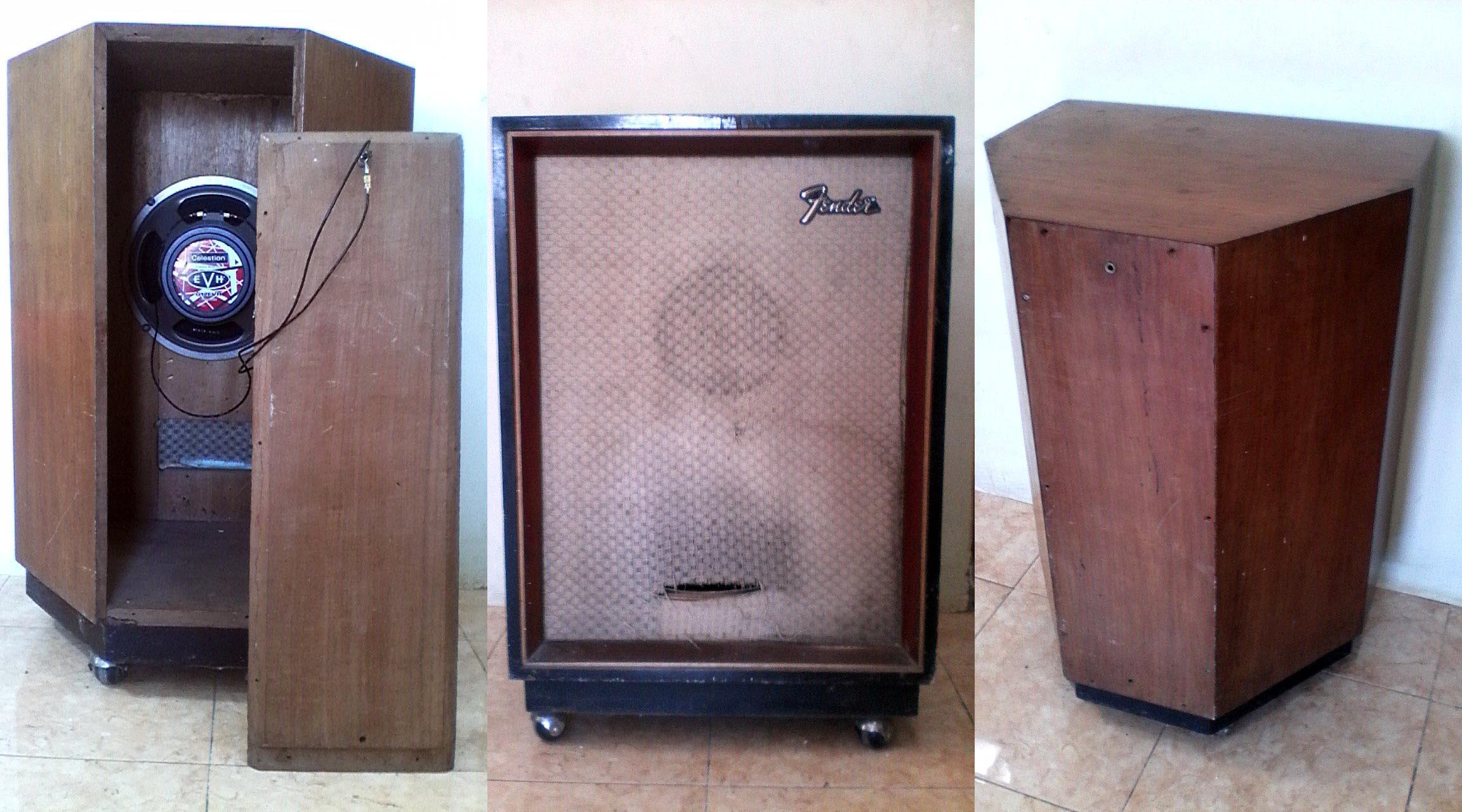 1×12 Cabinet with Celestion G12EVH speaker