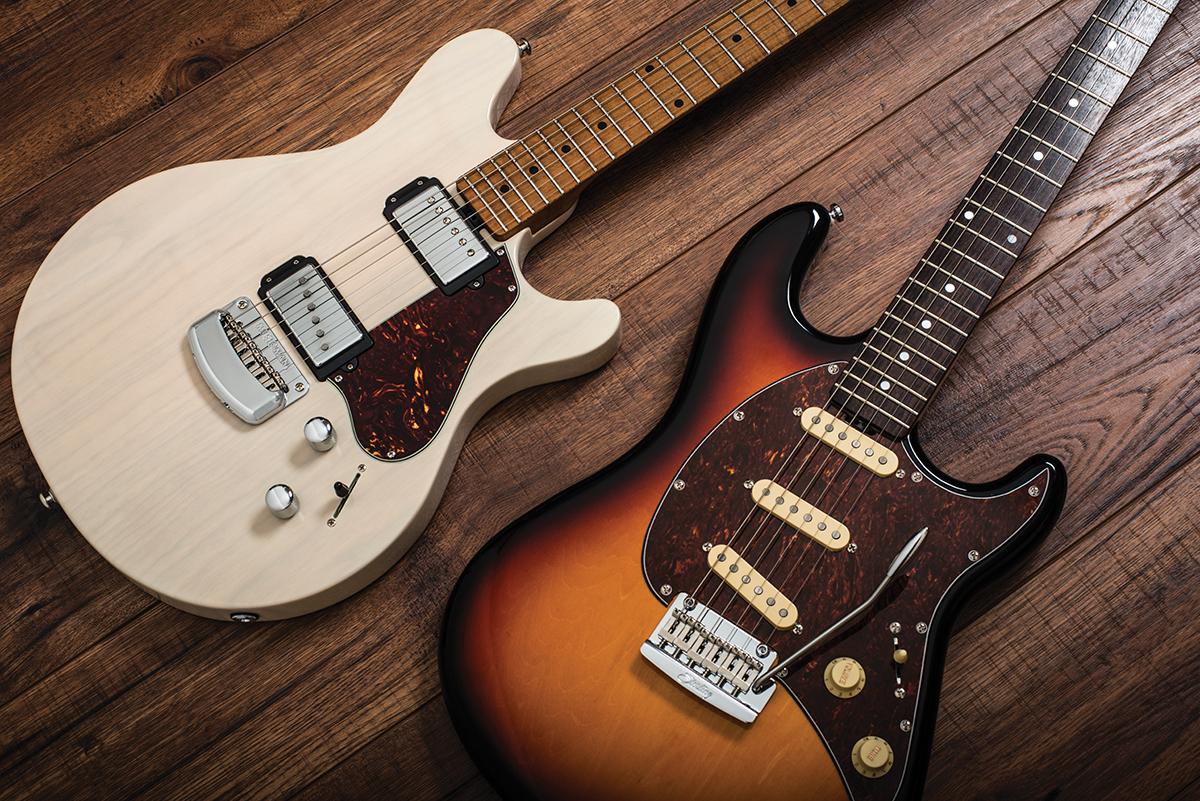 Music Man Valentine Amp Sterling Cutlass CT50 The Guitar