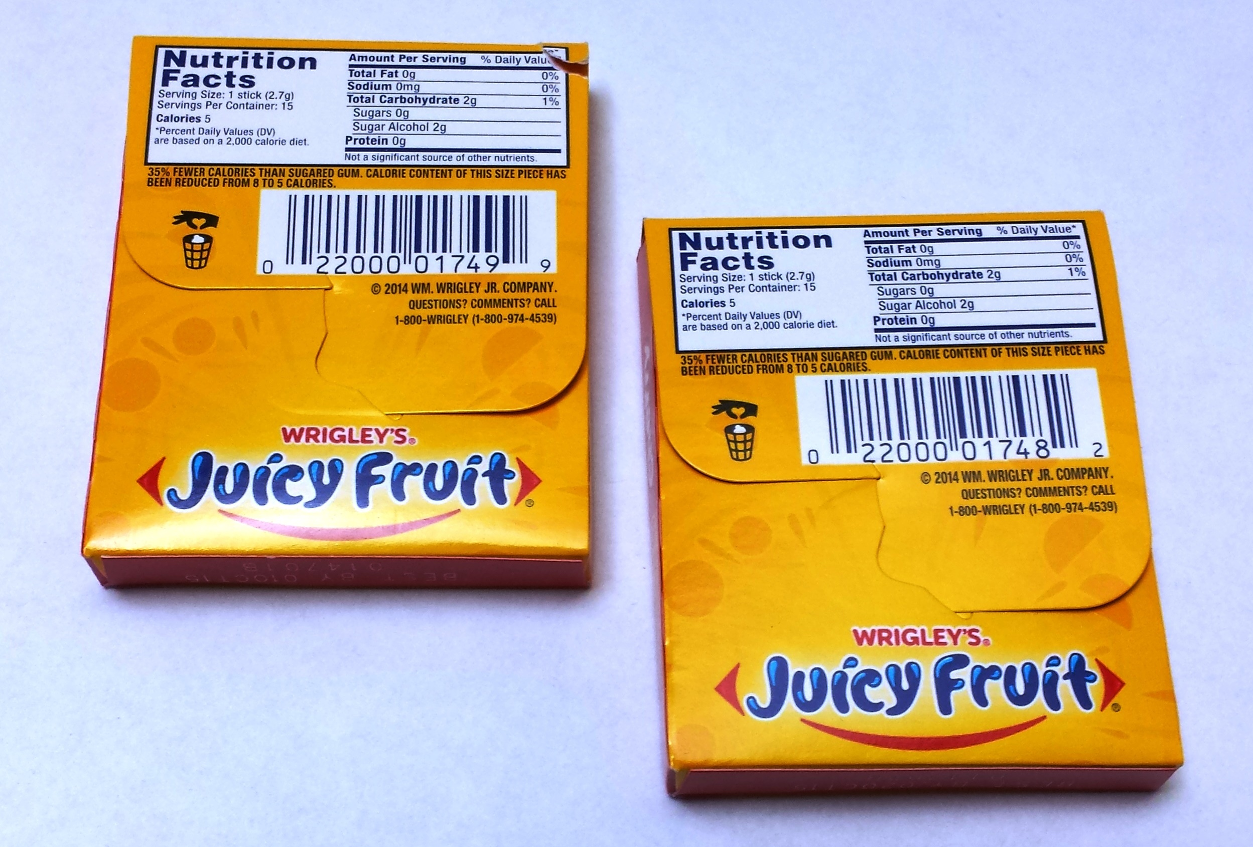Juicy Fruit Starburst Gum Review | The Gum Blog