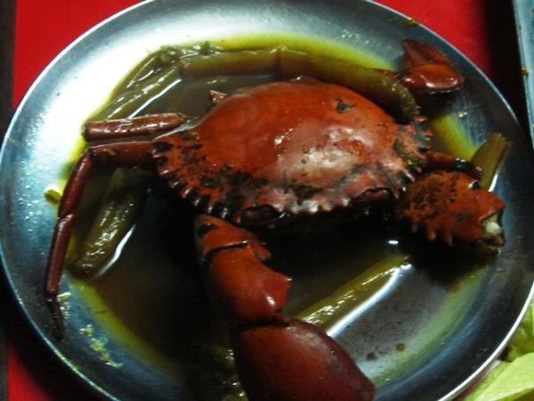 crab with Newari taste @Kwacha