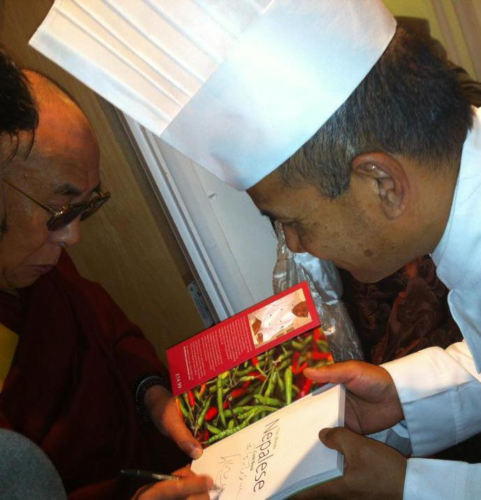 Nepali Masterchef Pemba Lama in Curry Nation
