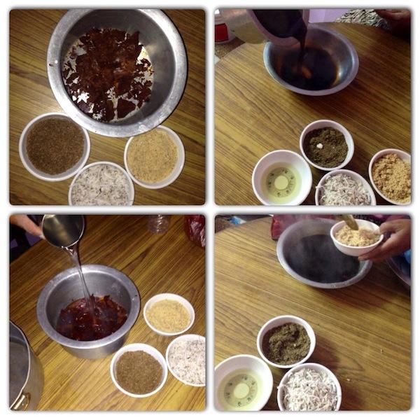 Making Yomari- Step 1