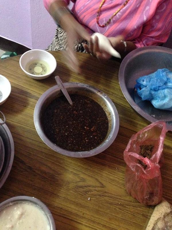 Making Yomari- Step 3