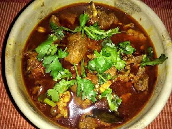 Mutton Curry (Khasi ko Masu)