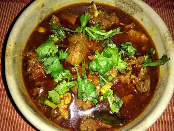 Mutton Curry (Khasi ko Masu)