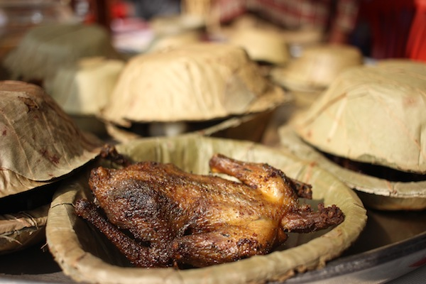 Parewak sikar: Delicacy prepared from pigeon meat by either roasted, fried or curried.