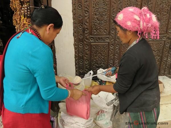 selling Tsampa