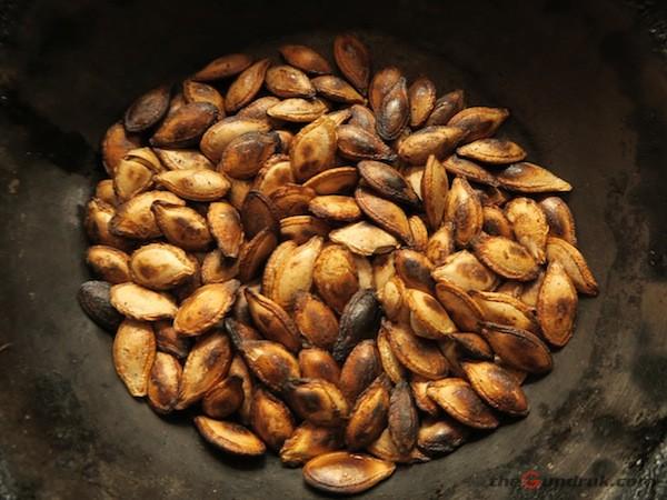 Roasted pumpkin seed