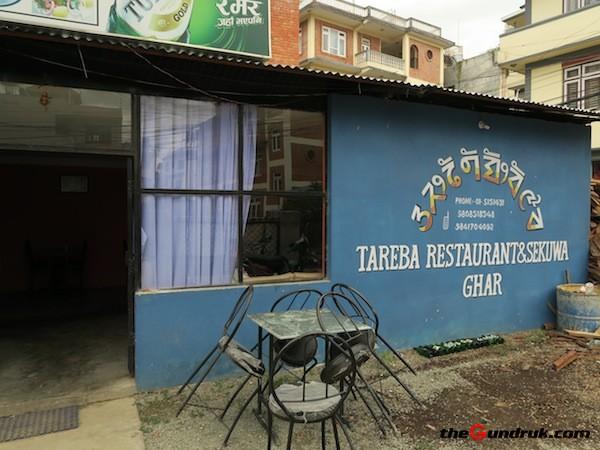 Tareba restaurant