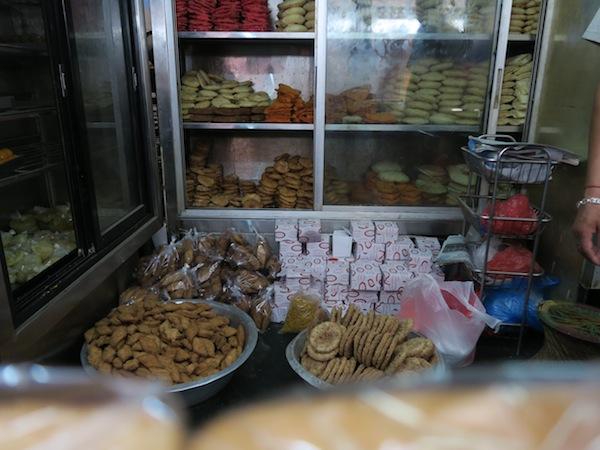 sweets at Nanda Mithai
