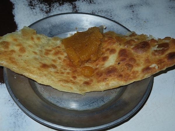 haluwa paratha at Chaulika