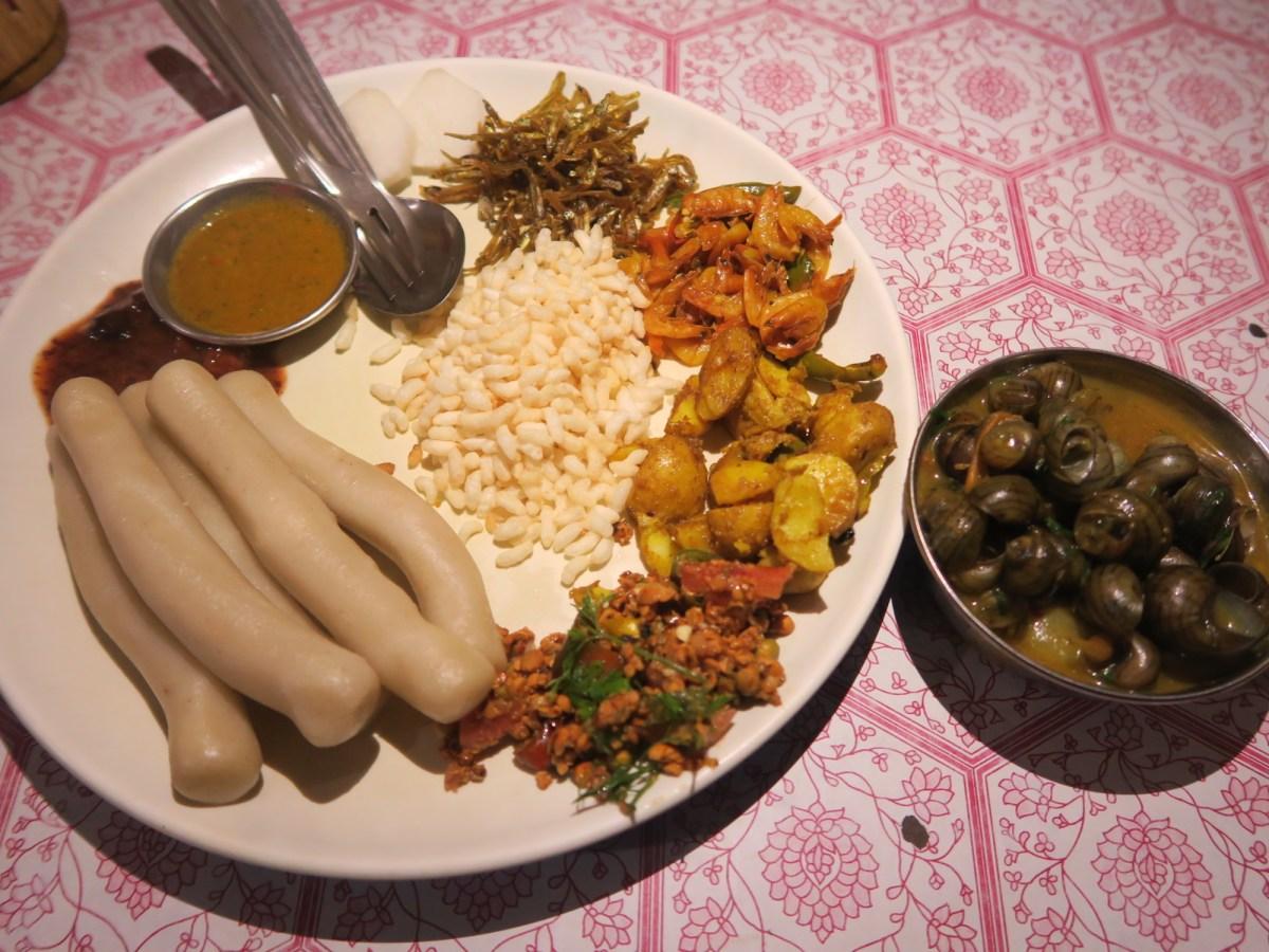 tharu food