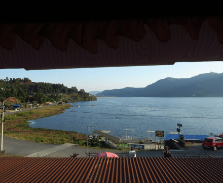 Lake to plate in Pokhara