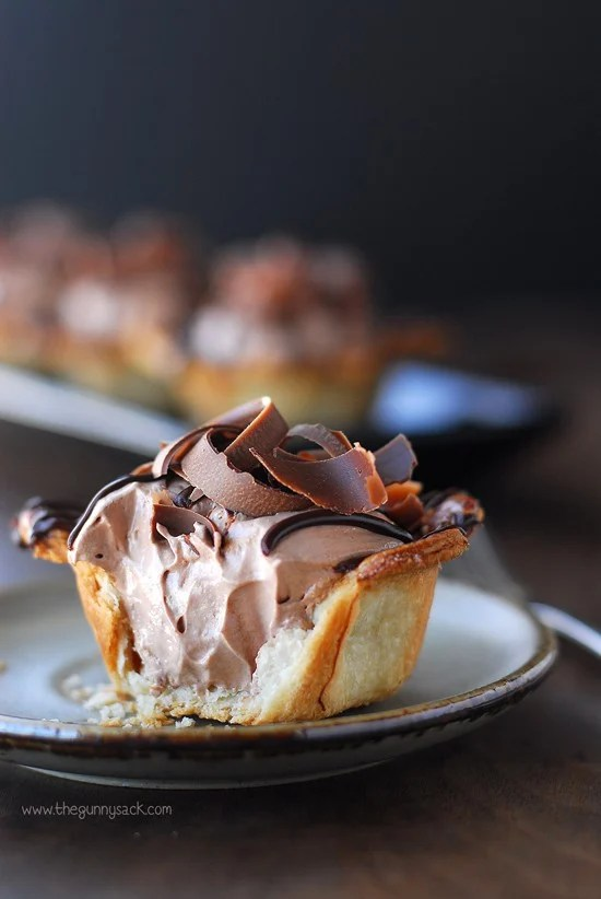 Nutella Mousse Pie Recipe