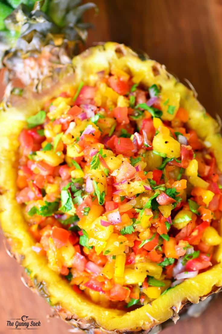 Image result for pineapple salsa
