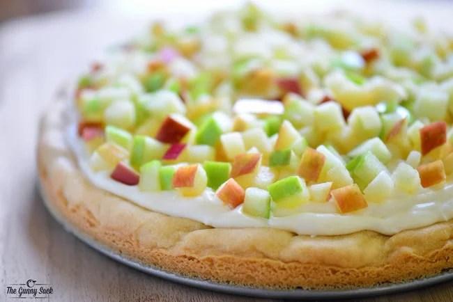 التفاح بيتزا وصفة