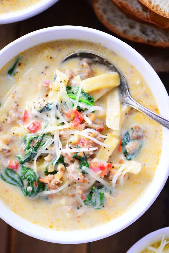 Italian Sausage Soup Recipe The Gunny Sack