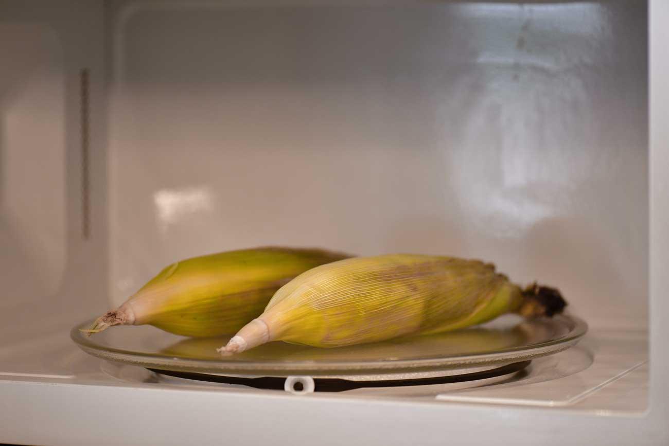 microwave corn on the cob the gunny sack