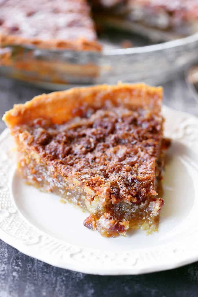 Easy Pecan Pie Without Corn Syrup The Gunny Sack