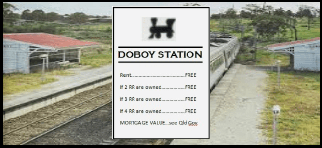 Brisbane Monopoly Launched - The Doboy Station Inclusion Campaign Begins - Get On Board (Pardon the Pun)