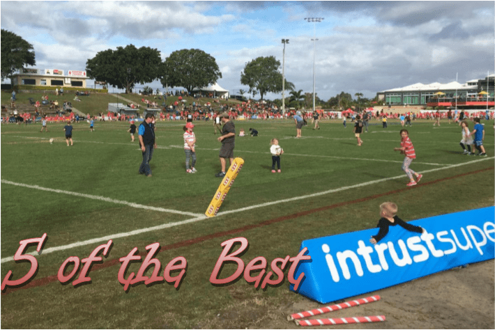 The Top 5 of the Intrust Super Cup Round 20