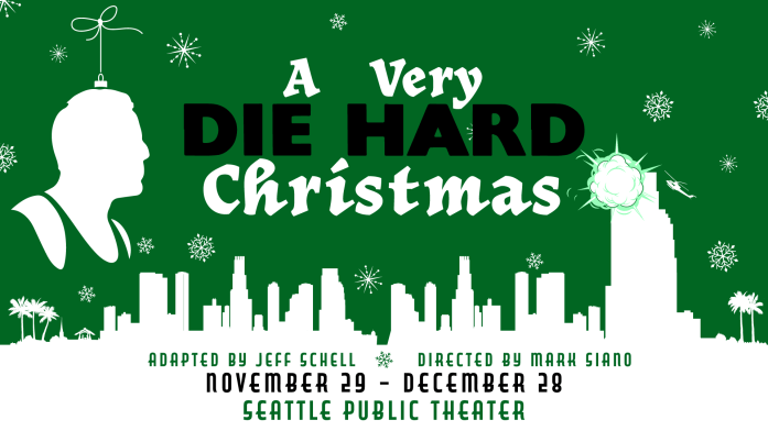 A Very Die Hard Christmas, performing at Seattle Public Theater November 29-December 28, 2019