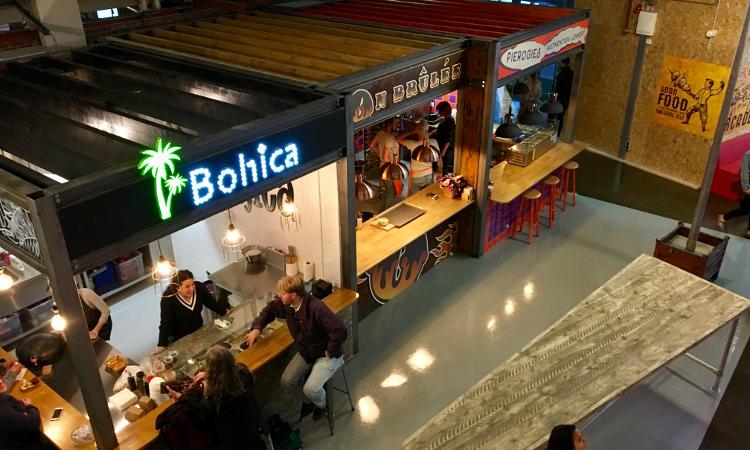MingleMush | De foodhal van Den Haag