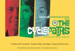 The Cyclepaths: Comedy at Pepijn @ Theater PePijn