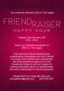 AWC Friend Raiser Happy Hour @ American Womens Club