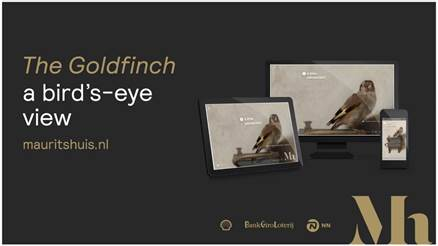 Mauritshuis launches website The Goldfinch, A Bird's Eye View on much-loved painting by Carel Fabritius