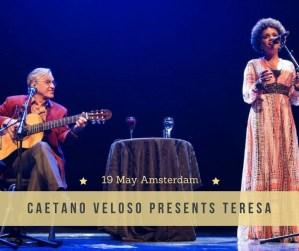 Caetano Veloso  @  Amsterdam's Concertgebouw @ Concertgebouw, Amsterdam