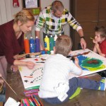 Huge Art workshop for chronically ill children
