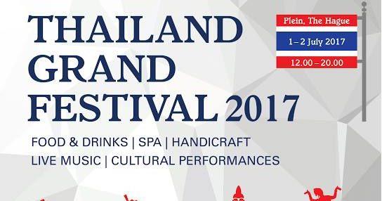 Thailand Grand Festival @ Het Plein