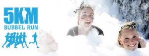 Have a foamtastic time during the Bubble Run @ Zuiderpark