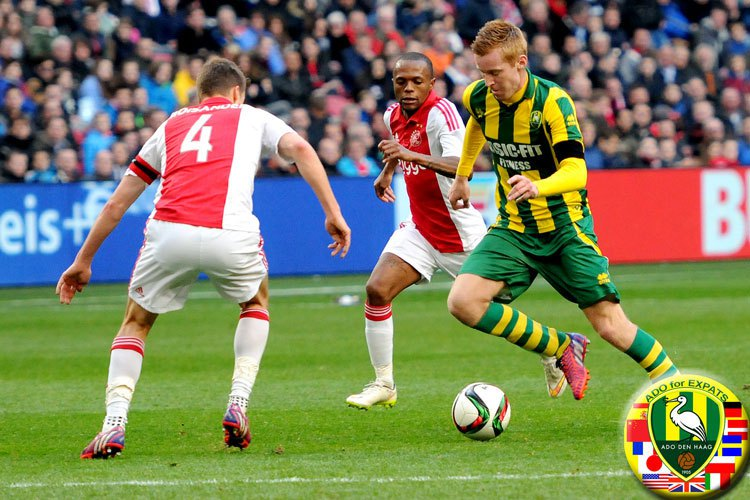 Join TheHagueOnLine Social Club to watch ADO Den Haag vs Ajax @ Cars Jeans Stadion , Forepark