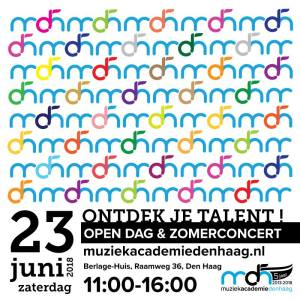 Music Academy The Hague organizes  Open Day on 23 June @ Berlage House