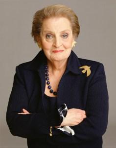 Madeleine Albright @ THE JOHN ADAMS INSTITUTE @ Muziekgebouw aan 't IJ