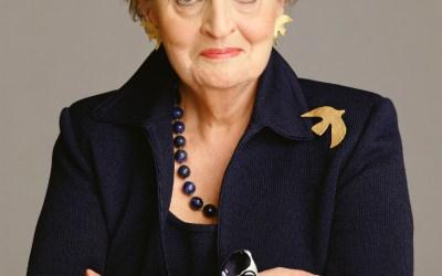 Madeleine Albright @ THE JOHN ADAMS INSTITUTE