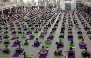 International Day of Yoga  2018 @ Museumplein