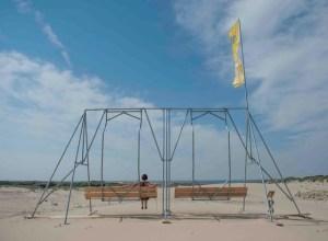 The Plunge, a theatrical audiotour @ Pier, Scheveningen
