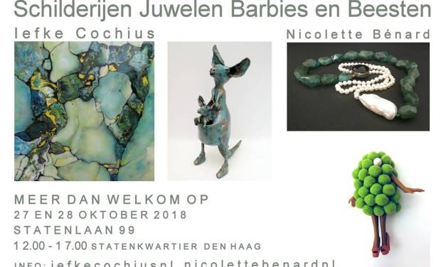 Paintings, Jewellery, Barbies and Beasts