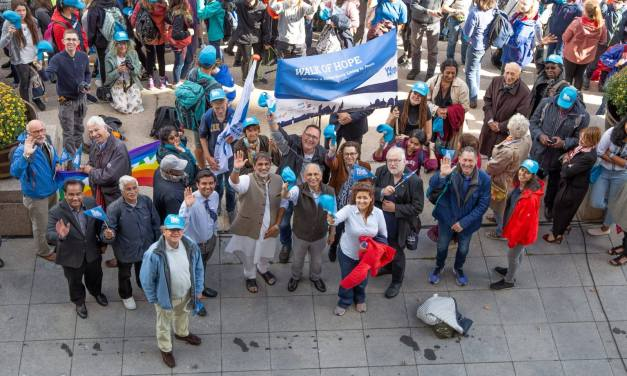 Video: 2nd edition of the Walk of Hope The Hague 2018 – 'Oneness of Humanity'