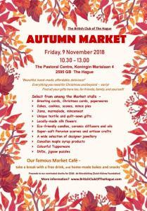 British Club 90th Anniversary Autumn Market