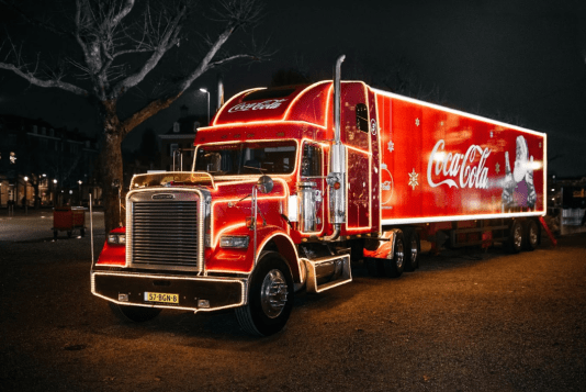 Holidays are Coming! Coca-Cola truck comes to The Hague