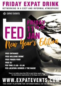 FED Expat Drinks: New Year's Edition @ Gember