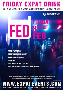 FED Friday Expat Drink & Dance @ Gember @ Gember