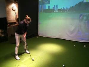 Interested in learning to play or improve your golf this winter @ Golfin' the City